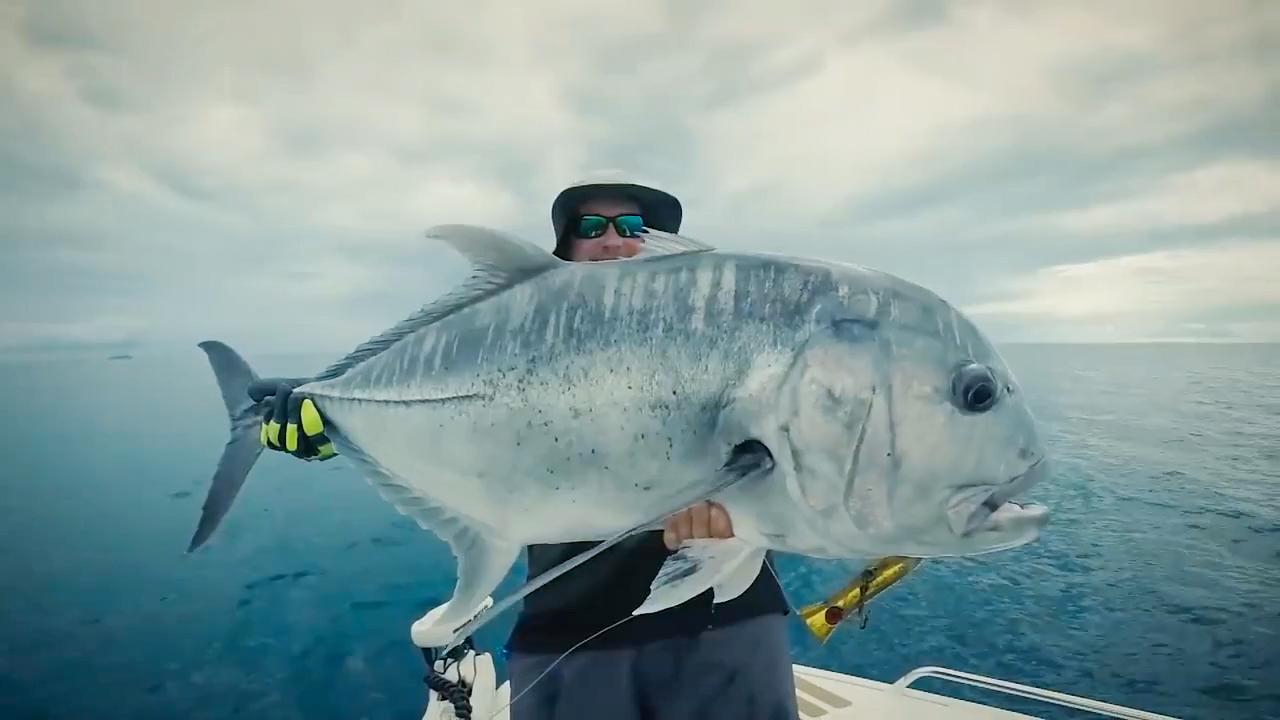 快艇上的无人机钓鱼之旅【视频转载于YouTube】