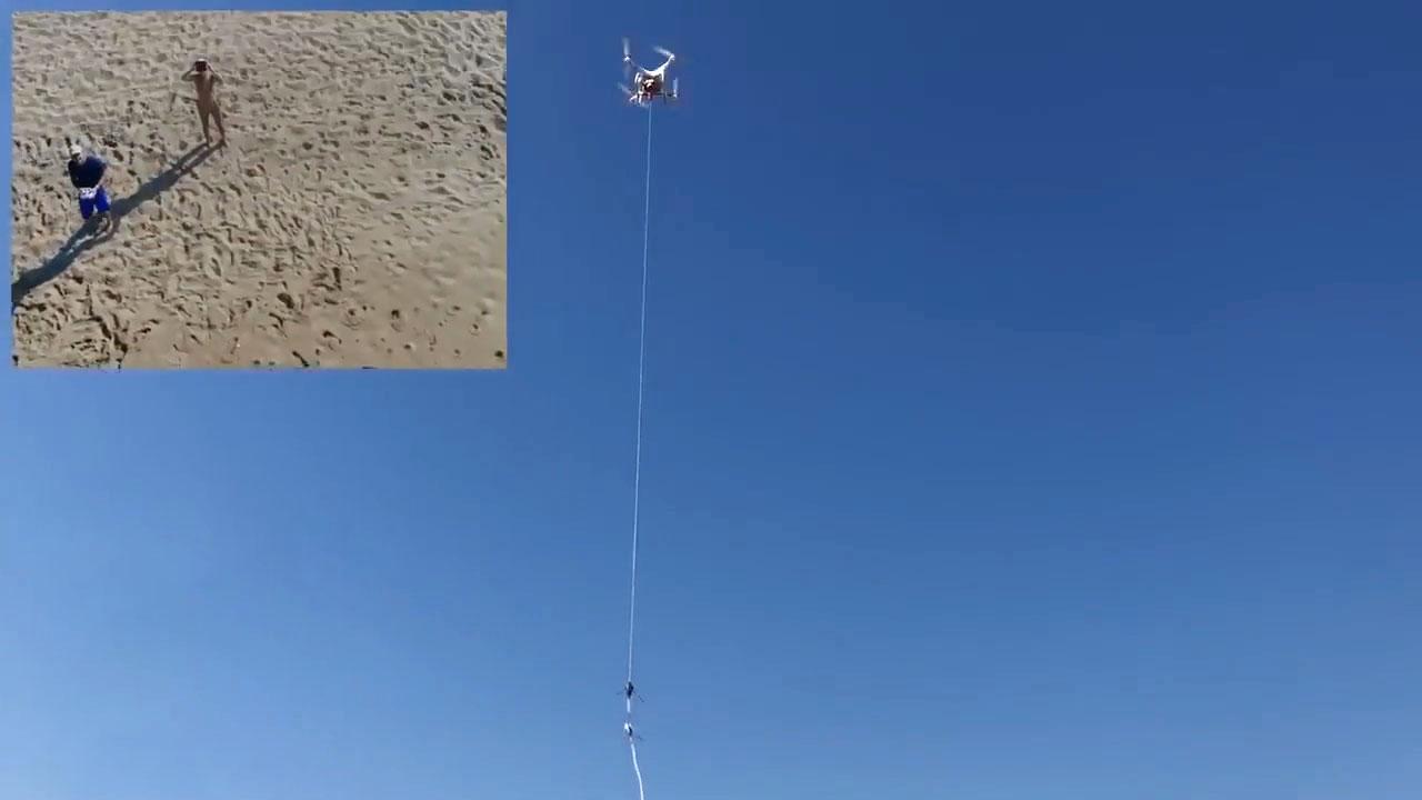 有了无人机让钓鱼告别空手而归【视频转载于YouTube】